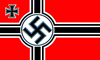 Nazi Battle Flag (currently forbidden in Germany)