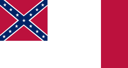 Third National Confederate States of America Flag
