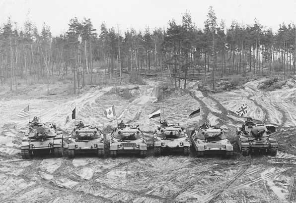 Tanks of the CAT 77 Competition