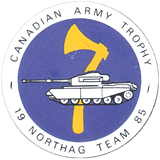 NORTHAG Team Button