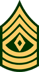 First Sergeant, E-8