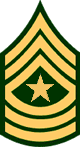 Sergeant Major, E-9