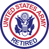 United States Army Retired Patch