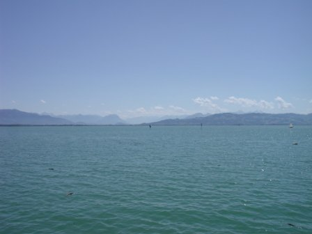 Lake Constance view towards Austria