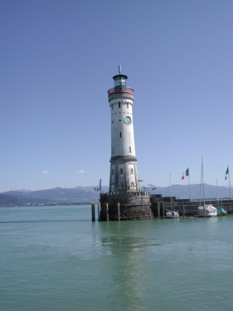 Lindau harbor lighthouse