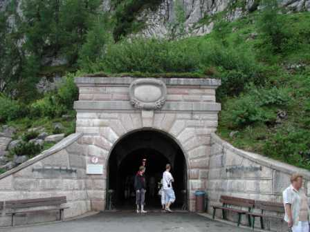 Entrance to the Eagle's Nest