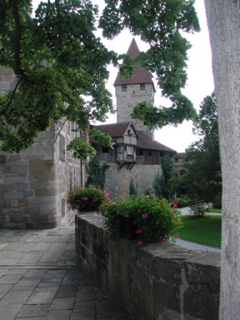 The corner of the Guest House and the Bulgarians' Tower