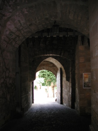 The Red Tower tunnel