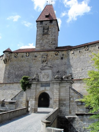 The entrance gate and Bulgarians' Tower