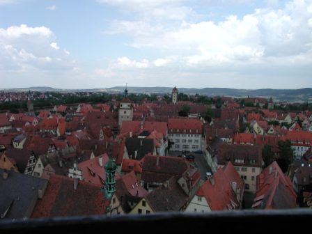 View from Rathaus Tower